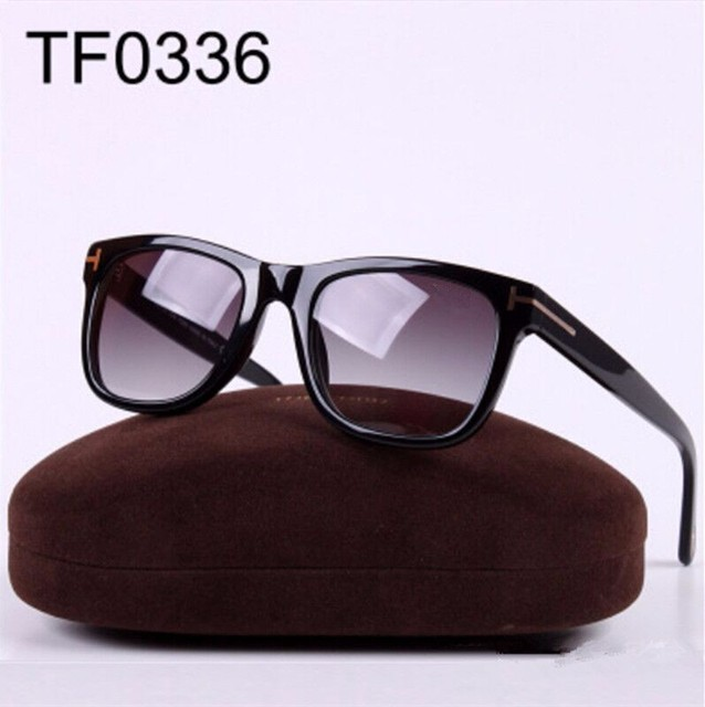 Hot Selling! TF0336 fashion men and women sunglasses RETRO SUNGLASSES import plate tide brand sun glasses FOR with Original box
