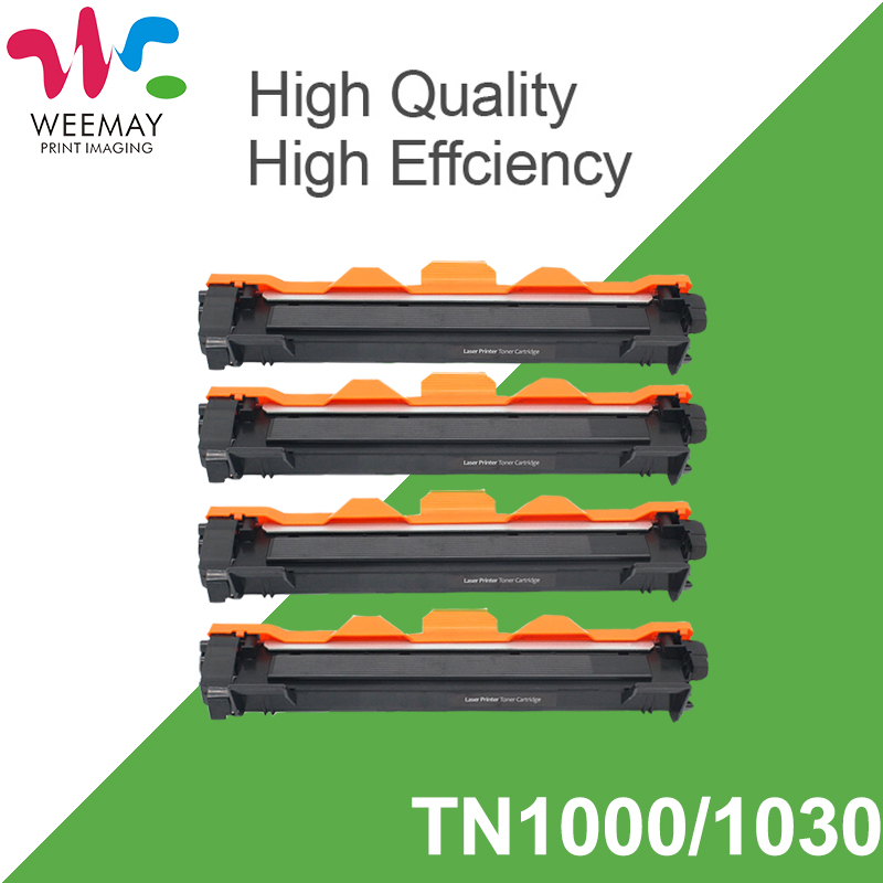 Toner Cartridge Compatible for Brother TN1000 TN1030 TN1050 TN1060 TN1070 TN1075 HL 1110 HL-1110 TN-1000 TN-1050 TN-1075 (4PCS) compatible brother tn1000 tn1030 tn1050 tn1060 tn1070 tn1075 toner cartridge for brother hl1110 1110r 1112 1112r mfc1810 1810r