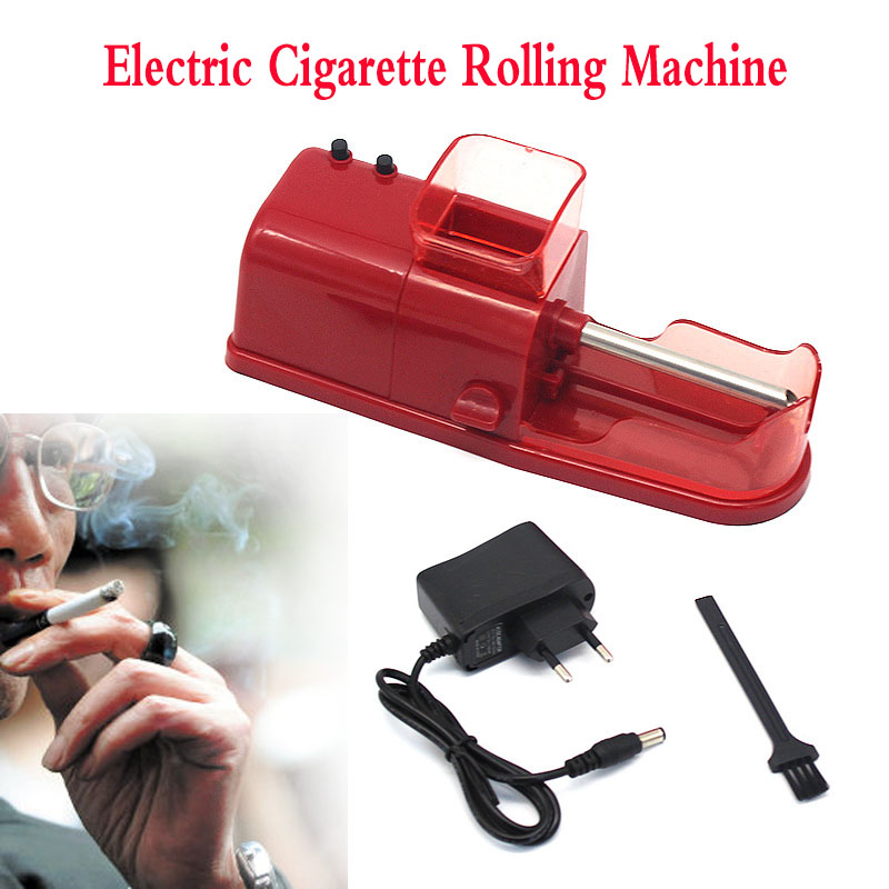 Electric Easy Automatic Cigarette Rolling Machine Injector Tobacco Maker Roller with Function Credibility Adapter|Cigarette Accessories| |  - title=