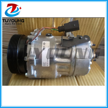 air auto ac compressor for volkswagen Bus 2008 SD7V16 120mm 6pk  7H0820803C 7H0820805L