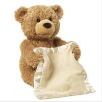 우우 곰 플레이 숨바꼭질 사랑스러운 만화 곰 아이 생일 선물