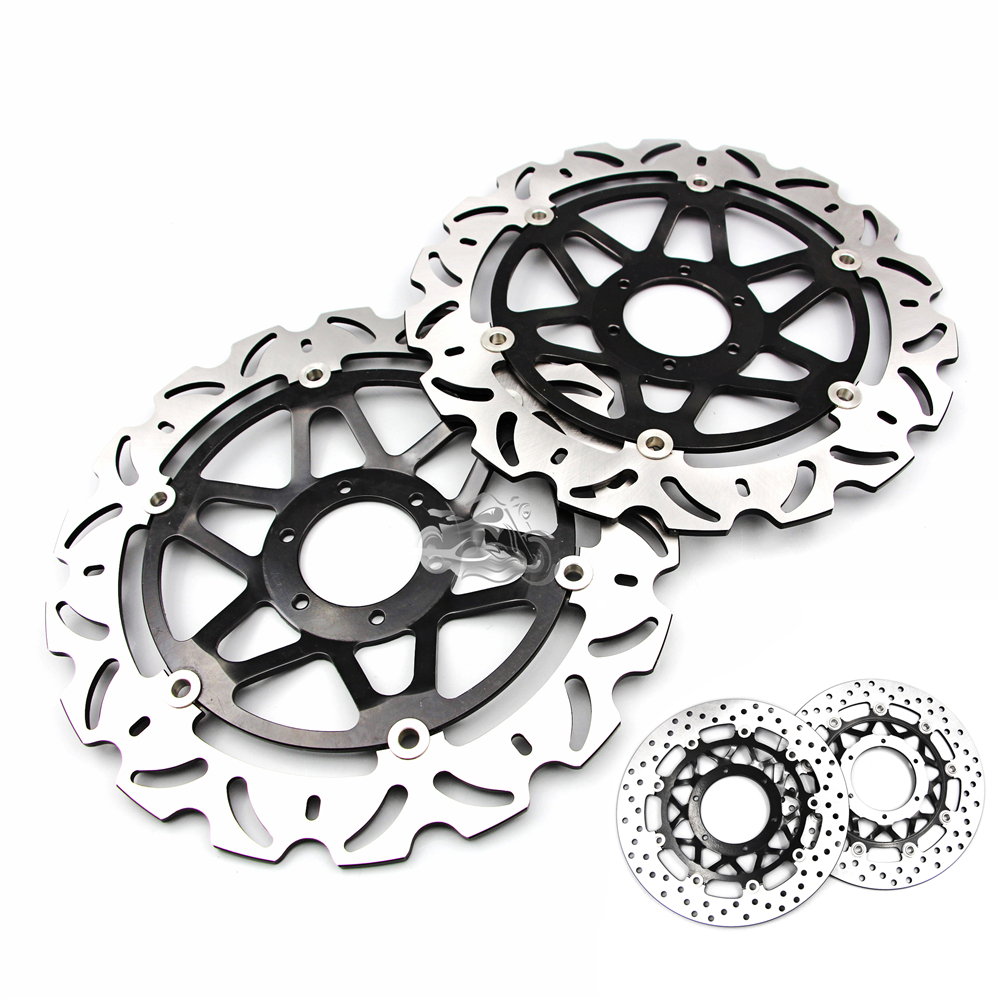 Floating Front Brake Disc Rotor For Motorcycle Honda CBR600RR CBR1000RR CB1300 SF SuperFour keoghs real adelin 260mm floating brake disc high quality for yamaha scooter cygnus modify