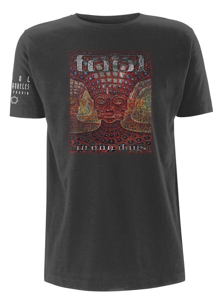 Tool '10 000 Days'   T     Shirt   New & Official