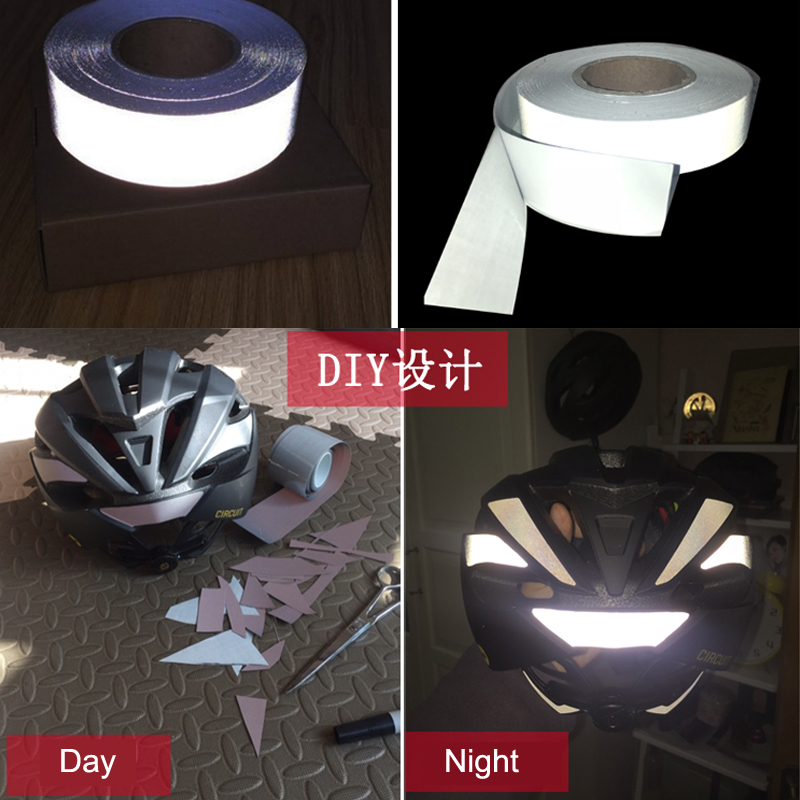 EN ISO 20471 Many Size Acceptable Reflective Fabric With Adhesive