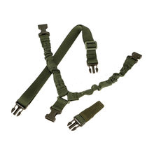 Tactical Gun Airsoft Hunting Shoulder Strap Bungee QD Hook Sling One 1 Single Point Gun Slings Military Outdoor Rifle Accessoies(China)