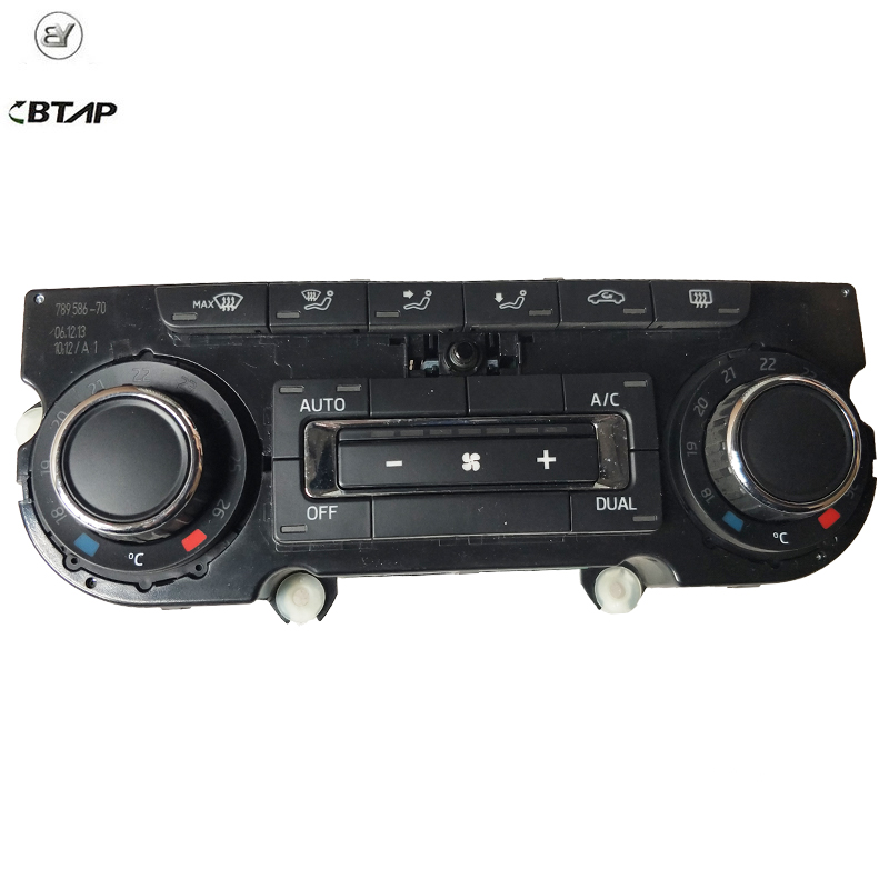New Ac Climate Heater Control Panel Unit For Skoda Superb 3t0907044m 3t0 907 044 M 3td907044m Original Equipment Quality Comfortable Feel Air Conditioning & Heat