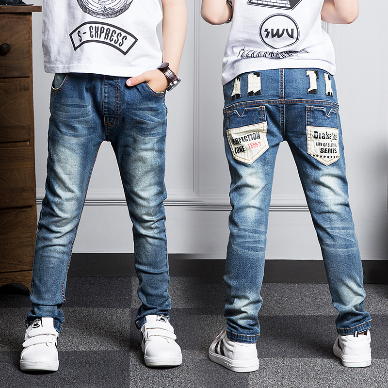 New Year, jeans boy for children wear fashionable style and high quality kids jeans,boys jeans 2 3 4 5 6 7 8 9 10 11 12 13 14