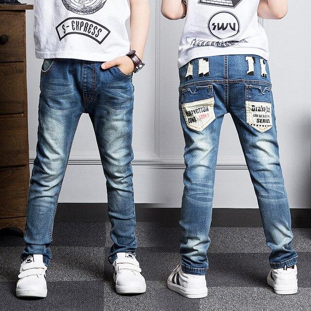 Новый Год, джинсы мальчик для детей носить модный стиль и высокое качество дети джинсы, мальчиков джинсы 2 3 4 5 6 7 8 9 10 11 12 13 14