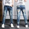 Ano novo, calças de brim menino para crianças desgaste estilo elegante e de alta qualidade crianças calças de brim, jeans meninos 2 3 4 5 6 7 8 9 10 11 12 13 14