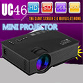 Unic UC46 Wireless WIFI Mini Portable Projector 1200 Lumen 800 x 480 Full HD LED Video Home Cinema Support Miracast DLNA Airplay