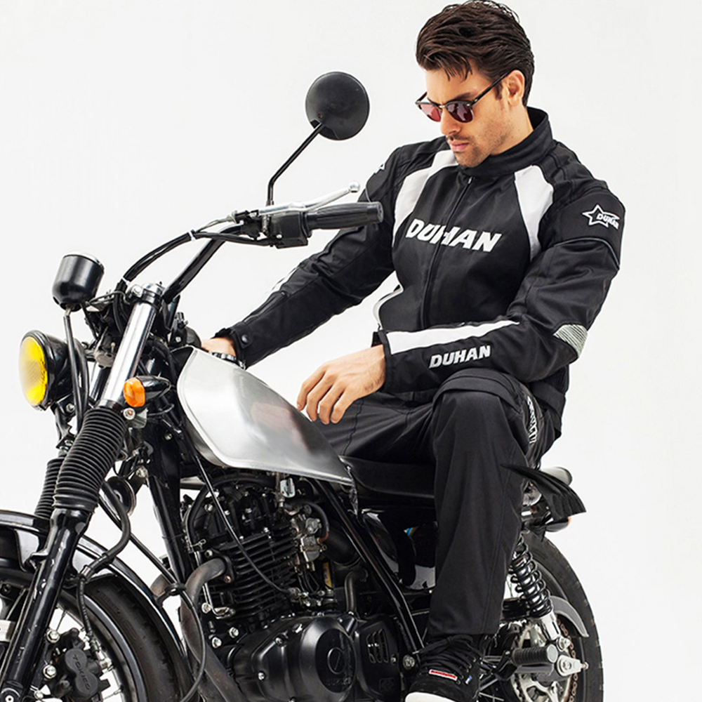 Image 5 - DUHAN Motorcycle Jacket Men Motocross Suits Jacket & Pants Moto Jacket Protective Gear Armor Motorcycle Clothing Riding Jackets-in Jackets from Automobiles & Motorcycles