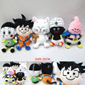 Anime Dragon Ball Z Figuras Plush Toys Super Hero Goku Vegeta Peluche Stuffed Dolls Gift for Kids Friend 5pcslot 20cm