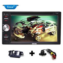 Cameras! 2 Din 6.2'' Android6.0 Quad-Core Car pc stereo in Car DVD Player GPS for Universal Car Support FM Radio/WiFi/SW Control