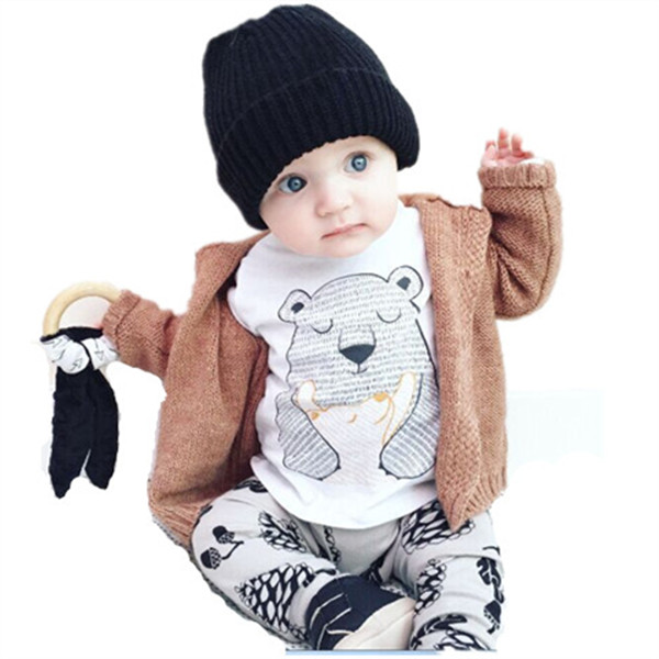 Twins Baby Clothes Cheap Clothes China Newborn Baby Products Kids Animal Baby Boy Summer Cotton Cartoon Clothing Set 2 Pieces