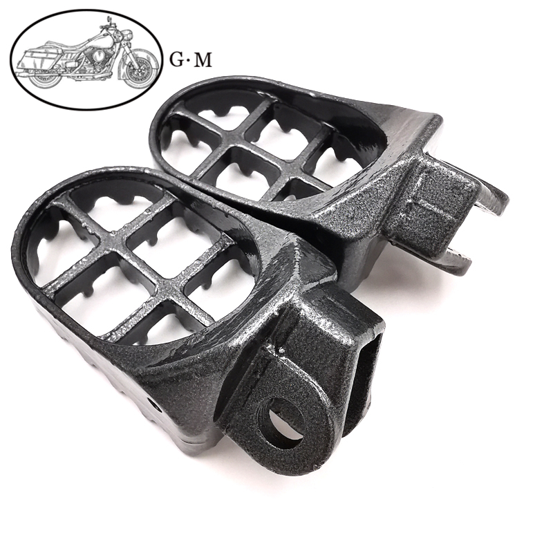 For Suzuki RMX250R RMX250 DRZ400 RM250 CNC Wide Foot Pegs Pedals Rests Footpegs