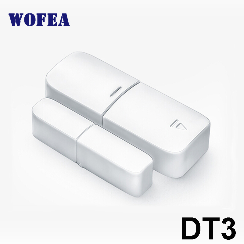 Free Shipping 433mhz Wireless Window And Door Magnetic Sensor Open Detector 1527 Chips