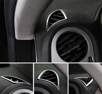 Aksesoris mobil auto ventilasi udara langsing dalam kondisi udara cover untuk Vw Tiguan 2010 2011 2012 2013 2014 2015 2 pcs