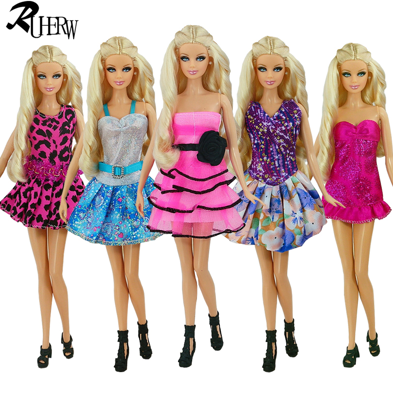 №122 Clothes for Barbie Doll T-shirt and Leggings for Dolls.