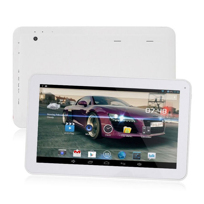New Bluetooth 10.1 10 inch Android 4.2 Tablet PC 8GB Dual core 10 Inch 1GB RAM A23 1.5GHz White Black cheap tablets pc 7 9 10