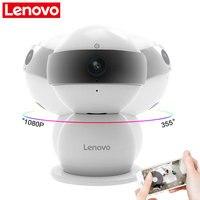 LENOVO WiFi Ip-kamera Schneemann SR Wireless Mini HD 1080 P Monitor & PTZ Videoüberwachung cctv Kamera Bewegungsmelder