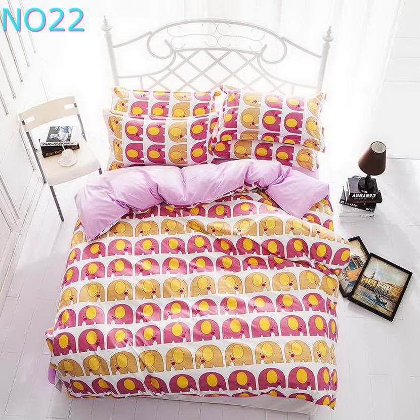 Красивые Облака Стиль хлопковый комплект постельного белья, постельное белье набор 3/постельного белья из 4 предметов, комплект с надписью «розовый», цвет бел - Цвет: Темный хаки