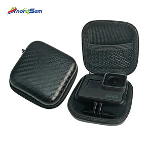 Image 1 - Anordsem Mini Storage Bag Carrying Case Box For Go Pro Hero 8 6/5 Sport Camera Shockproof Design Supports For Gopro Hero7 Yi4k