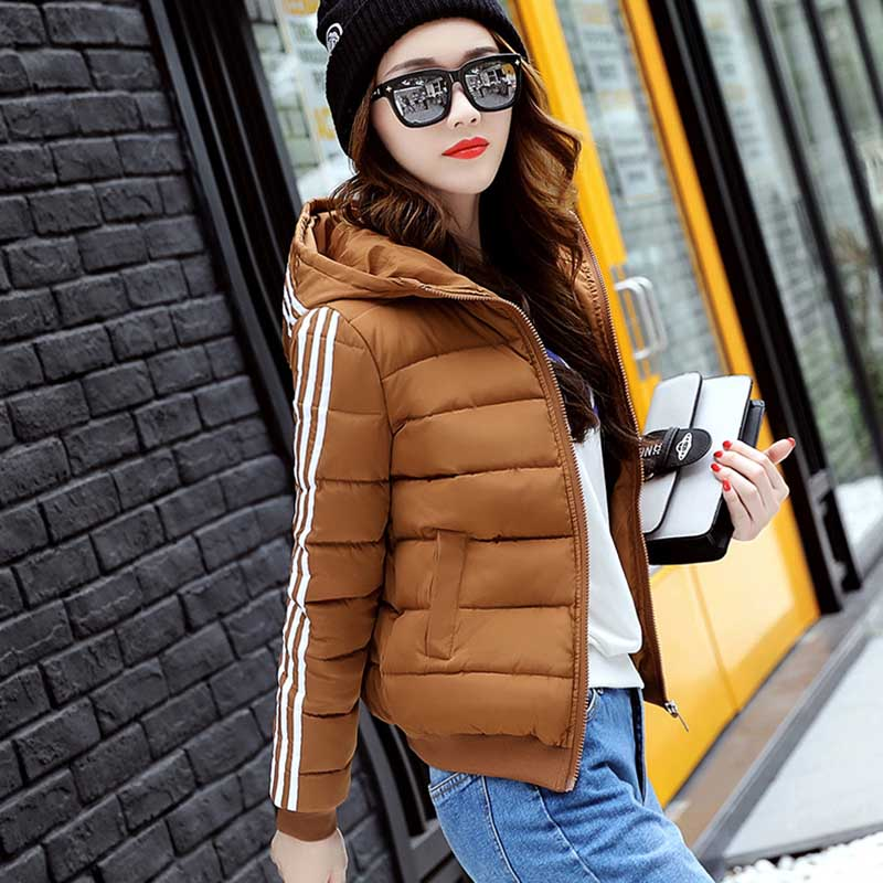Ruiyige New Winter Women   Down     Coat   Loose Bread Overcoat Snow Parkas Silver Bright White Duck Warm   Down   Jacket Bomber Parkas