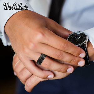 Image 4 - חדש הדפס מנומר סיליקון טבעות לגברים חתונה גומי להקות היפואלרגנית גמיש ספורט אנטיבקטריאלי סיליקון אצבע טבעת
