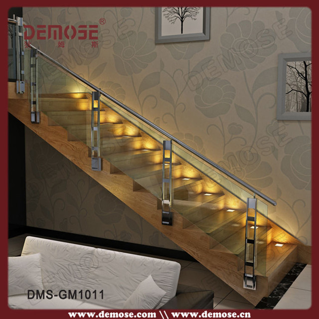 Wood Nosing Stairs With Glass Railing Design On Aliexpresscom