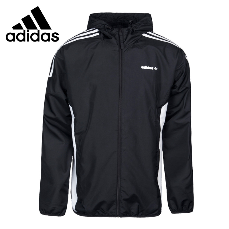 цена на Original New Arrival 2017 Adidas Originals CLR84 WB Men's Woven jacket Hooded Sportswear