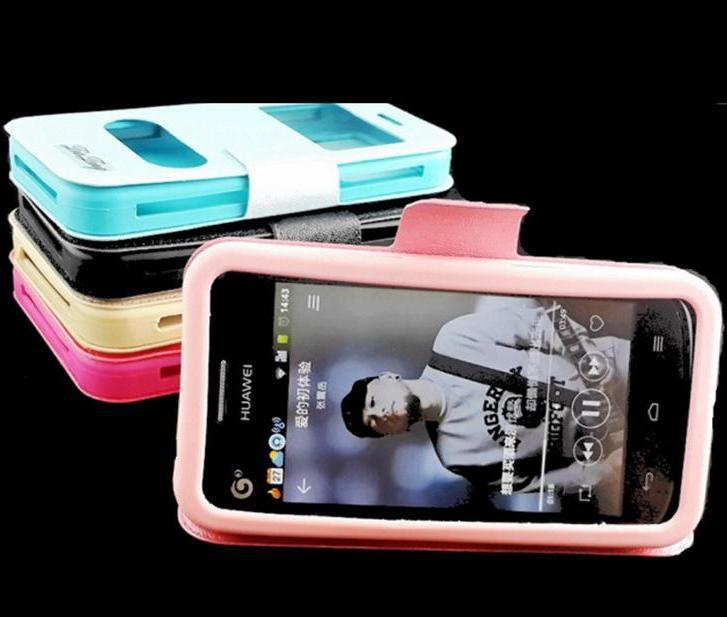 OnlyCare HotSell Flip PU Leather Fly IQ4416 Case, Soft Silicon Back Cover Phone Cases for Fly IQ4416 Era Life 5 Free Shipping