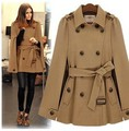 Womens belt Wool Winter Autumn jacket coat outwear parka trench overcoat Cloak Cape coat women shawl rain coats doudoune femme
