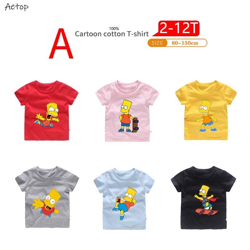 simpson  Cartoon Design Funny Children T shirt Kids Casual Clothes Tops T-shirt For Boys Girls,b204simpson  Cartoon Design Funny Children T shirt Kids Casual Clothes Tops T-shirt For Boys Girls,b204