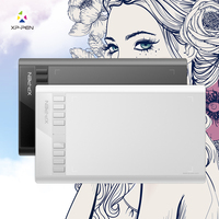 XP Pen Star 03 Parblo A610 Ugee M708 Graphics Drawing Tablet With Battery Free PASSIVE Pen