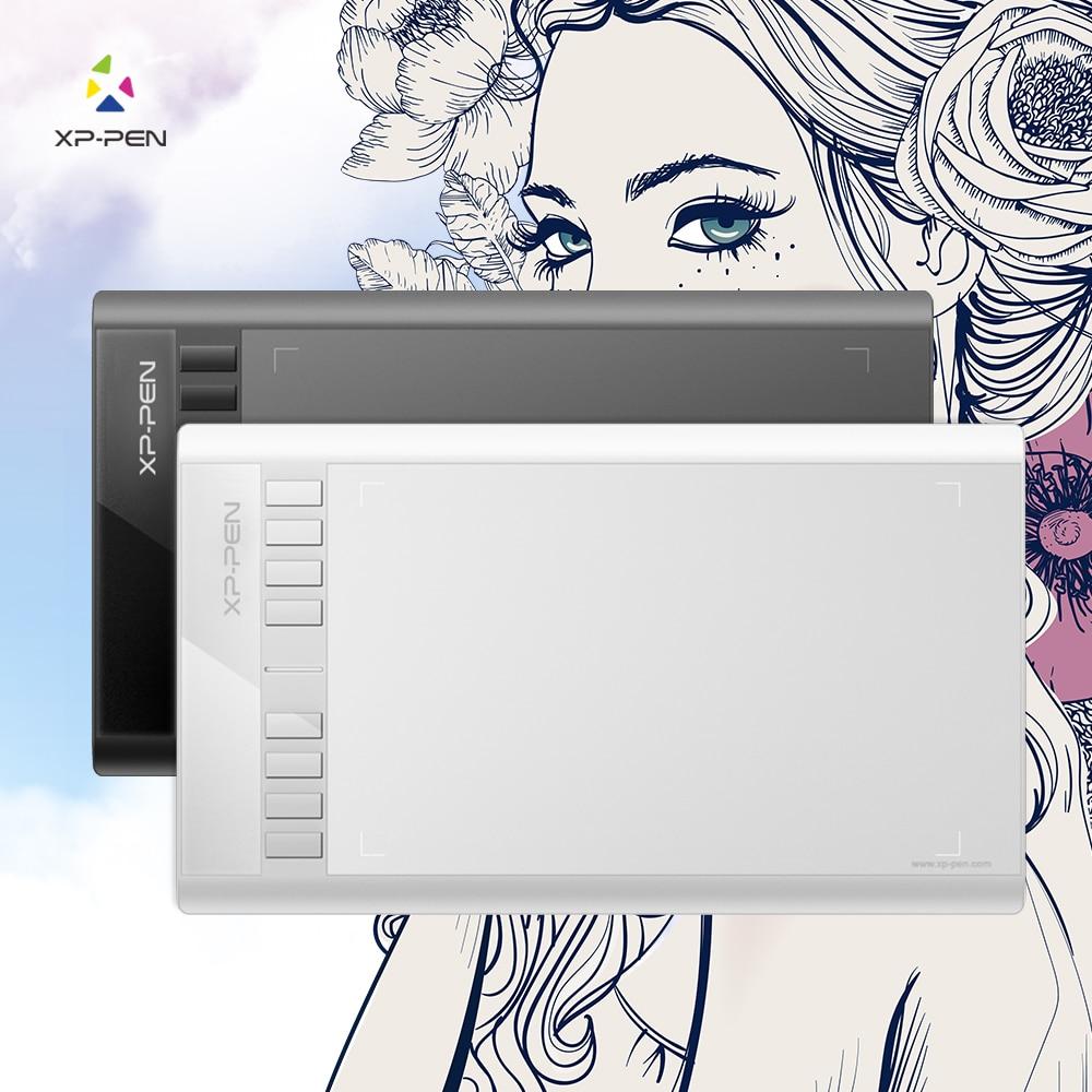 Xp-pen Star 03 Tablet dibujo gráficos con la batería libre de pasivo lápiz Digital