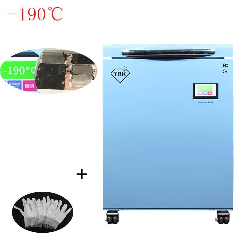 Più nuovo-190C TBK-588 Congelamento Strumenti LCD Touch Screen di Separazione Macchina Congelati Separatore di Massa Utensili Elettrici RU TASSA di TRASPORTO