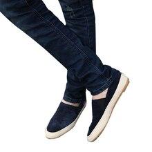 Горячие Продажи Мужчины Обувь Дышащая Досуг Квартиры Повседневная Обувь Удобная Летняя Обувь Мужчин Бездельников