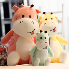 20-50CM High Quality Soft Stuffed Cute Plush Toys Animal Pillow Deer Peluche Kawaii Doll Cotton Girl Brinquedo Toys For Children(China)