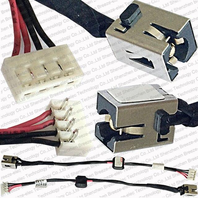 3 pieces lot 100 genuine new laptop ac dc power jack socket wire rh aliexpress com