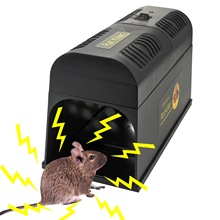 Mouse Trap Electronic mice Killer Rat Pest Control Electric Zapper Rodent  For Serious EU US UK Plug