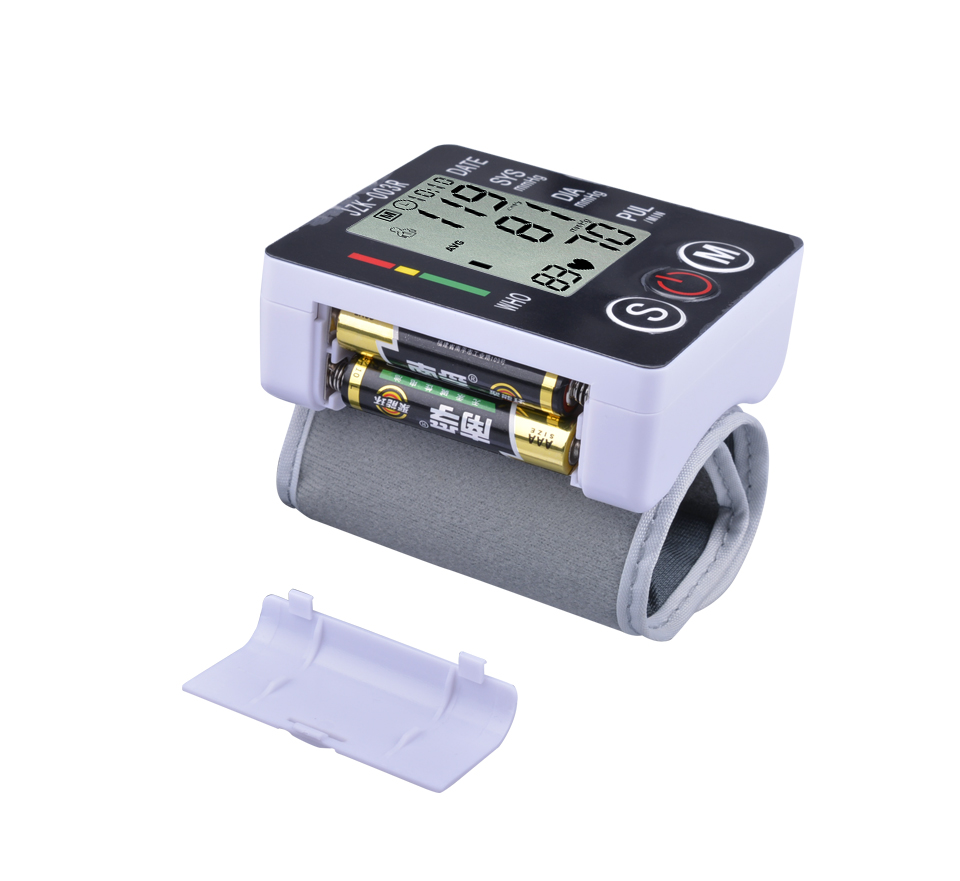 Blood Pressure Monitor Sphygmomanometer Blood Pressure Meter Pulse Digital Wrist Automatic Diagnostic Tool Electronic