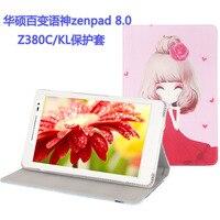 Di modo dell'unità di elaborazione case cover per asus zenpad 8.0 z380c z380kl tablet pc per asus zenpad 8.0 z380c z380kl case cover