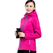 Outdoor Ms Soft shell clothing With a hat Catch fleece Jackets Jersey Mountaineering suits Fishing clothes Jackets