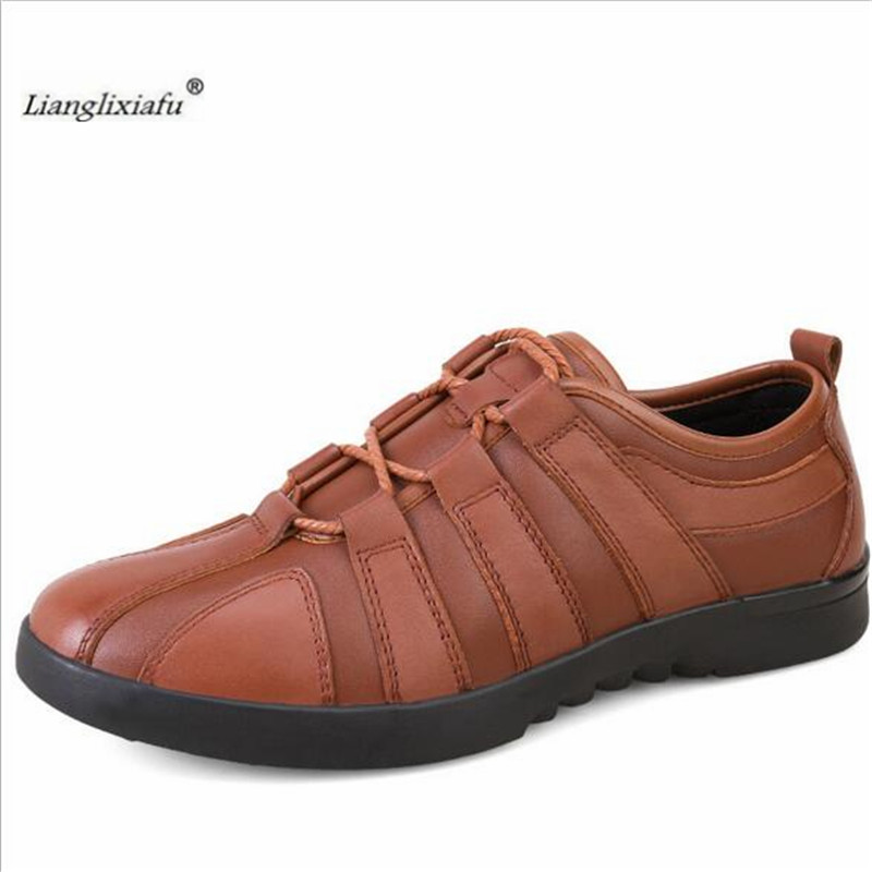 LLXF Plus size:38-46,47 Breathable Men