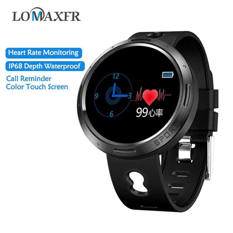 SmartWatch Pulseira Monitor de Freqüência Cardíaca À Prova D' Água Ip68 M58 Mulheres Pulseira Esporte Dos Homens de Fitness Rastreador Relógio Inteligente Com Bluetooth