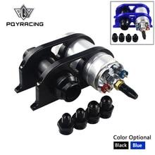 PQY-44 мм и 60 мм двойной заготовки Топливный насос фильтр Монтажный кронштейн зажим комплект+ 044 топливный насос+ топливный фильтр