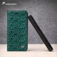 ل iphone x 10 غطاء الوجه حالة التمساح نمط جلد طبيعي آيفون 7 زائد/8 8 زائد 6 6 ثانية إغلاق المغناطيسي حامل قذيفة