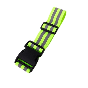 Image 2 - High Visibility Reflective Safety Security Belt For Night Running Walking Biking