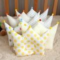 0-12 Meses Do Bebê Shaping Pillow Prevent Cabeça Chata Crianças Coroa Dot Cama Travesseiros Newborn Boy Girl Decoração do Quarto acessórios
