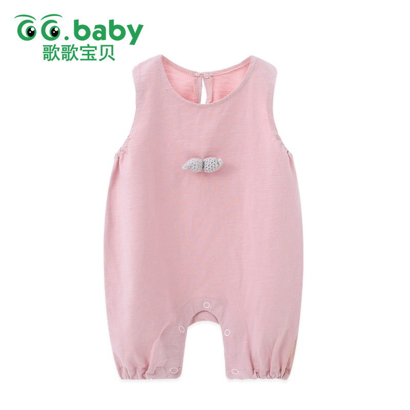 Cute Baby Girl Summer Romper Jumpsuit Sleeveless Baby Overalls Newborn Clothes Boy Rompers Toddler For Baby Boy Overalls Pajamas